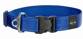 Rogz - Utility 2 x Extra-Large Landing Strip Dog Collar - Blue