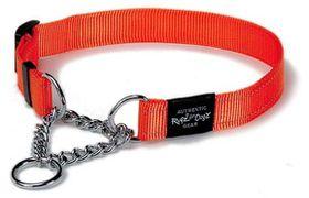 Rogz - Utility Large Fanbelt Dog Check Collar - Orange