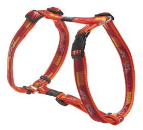 Rogz - Fancy Dress Large Beachbum Dog H-Harness - Tangerine