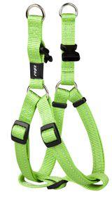 Rogz Utility Medium Snake Dog Step-In Harness - Lime
