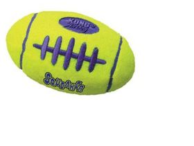 Kong -  Dog Toy Airdog Squeaker Football - Medium - Yellow