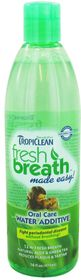 Tropiclean Fresh Breath Water Additive For Dogs - 473ml