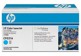 HP No. 646A Cyan Print Cartridge