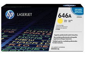 HP No. 646X Yellow Print Cartridge