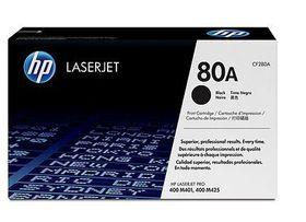 HP No. 80A Black LaserJet Toner Cartridge