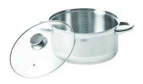 Legend - Euro Chef 5 Litre Stainless Steel Casserole -  24cm Silver