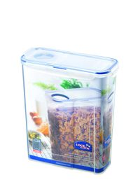 Lock & Lock - 4.3 Litre Rectangular Cereal Container With Flip Lid