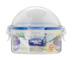 Lock and Lock - 300ml Round Onion Case - 11.4 cm x 9.3 cm