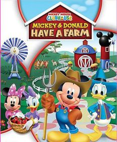 Mickey Mouse Clubhouse: Donald & Mickey Have A Farm (DVD)