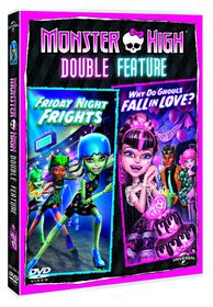 Monster High: Why Do Ghouls Fall In Love & Friday Night Frights (DVD)