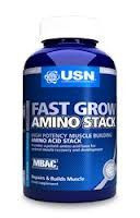 USN Fast Grow Amino Stack - 120 Tablets