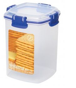 Klip It - 900ml Cracker Storage Container (111mm x 111mm x 142mm)