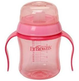 Dr.Brown's - 180ml Soft Spout Training Cup - Pink