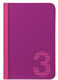 Ozaki iPad Mini Code Folio Number 3 - Purple & Pink