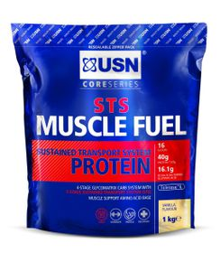 USN Muscle Fuel Sts - Vanilla 1Kg Bag