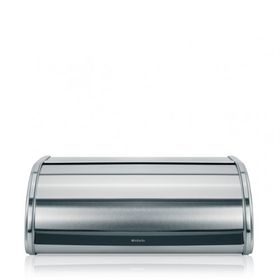 Brabantia - Roll Top Bread Bin - Matt Steel