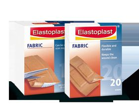 Elastoplast Fabric Plaster Assorted - 40's - 47085