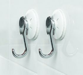 Powerloc - Stainless Steel Hooks - Set Of 2