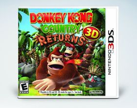 Donkey Kong Returns 3D (3DS)
