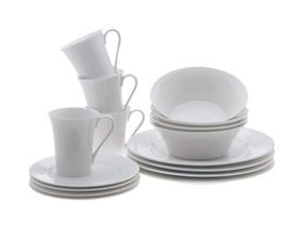 Maxwell and Williams - White Basics - 16 Piece Tempo Dinner Set