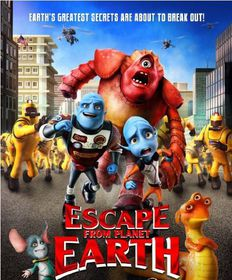 Escape From Planet Earth (2D + 3D Blu-ray)