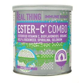 The Real Thing Ester C Combo Tablets -120