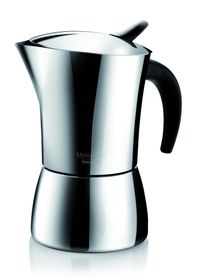 Tescoma - Stainless Steel Monte Carlo Coffee Maker - 6 Cups