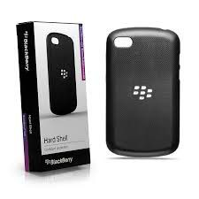 BlackBerry Q10 Hard Shell - Black & Black
