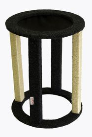 Scratzme - Drummock Scratching Post - Grey & Charcoal