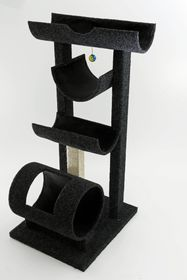 Scratzme - The Marriot Scratching Post - Grey & Charcoal