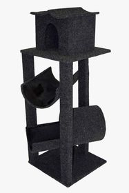 Scratzme Ming Inn Scratching Post GREY/CHARCOAL