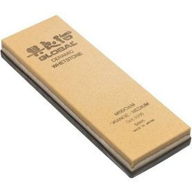 Global - Medium Ceramic Sharpening Stone - Orange