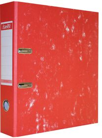 Bantex Optima 7 Board Lever Arch File A4 70mm - Red