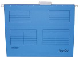 Bantex Suspension File A4 - Cobalt Blue (Pack of 25)