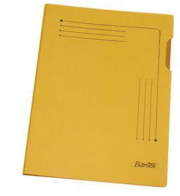 Bantex Insert Folder A4 - Yellow (25 Pack)