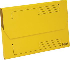 Bantex Smart Folder A4 Kraft - Yellow (Pack of 10)