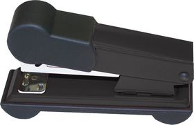 Bantex Metal Small Half Strip Home Stapler - Black