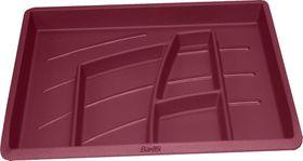 Bantex Organiser Tray - Burgundy (6 Compartments)