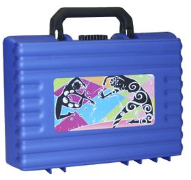 Bantex Casey 1 34cm Utility School Case - Blue