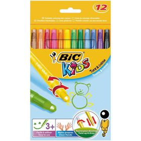 BIC Kids Turn & Colour 12 Wax Crayons