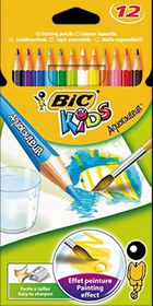 BIC Kids Aquacouleur 12 Pencil Crayons