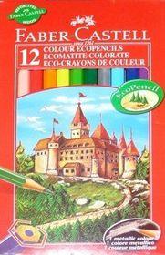 Faber-Castell 12 Half Length Ecopencils Colour Pencils