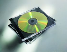 Fellowes CD Jewel Case - Black (Pack of 10)