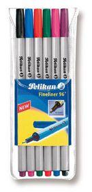 Pelikan Fineliner 96 0.4mm (Wallet of 6)