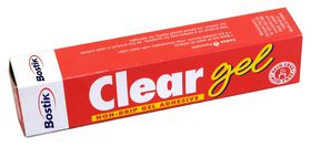 Bostik Clear Gel Adhesive - 25ml Box