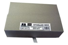 Croxley S1217 Storage Box - Hinged Lid
