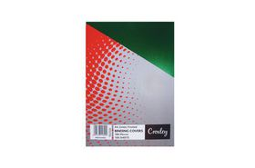 Croxley Frosted A4 Binding Covers - Green (100 Pack)