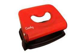 Croxley Light Duty Punch - Black & Red (14 Page)