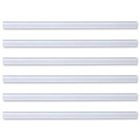 Durable Slide Binder 6mm - Clear (10 Pack)