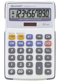 Sharp EL-334F Desktop Calculator